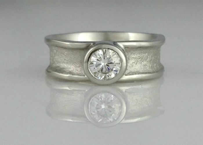 Zena Wide Engagement Ring