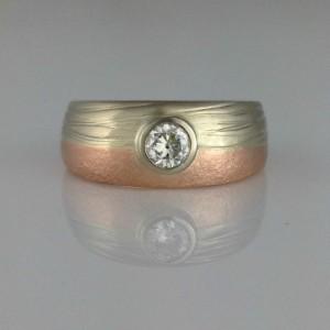 Land & Sea Engagement Ring