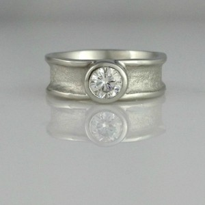 Zena Wide Engagement Ring