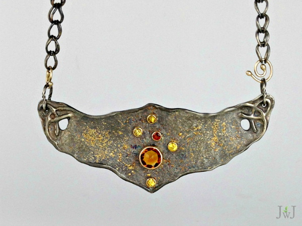 Ancient Rust Pendant
