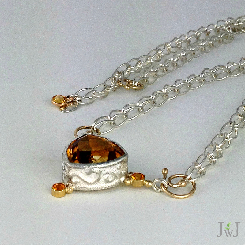 Ancient Citrine Neckpiece