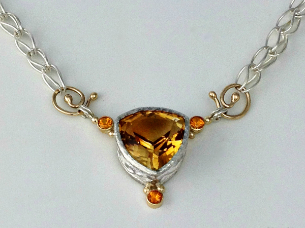 Ancient Citrine Necklace