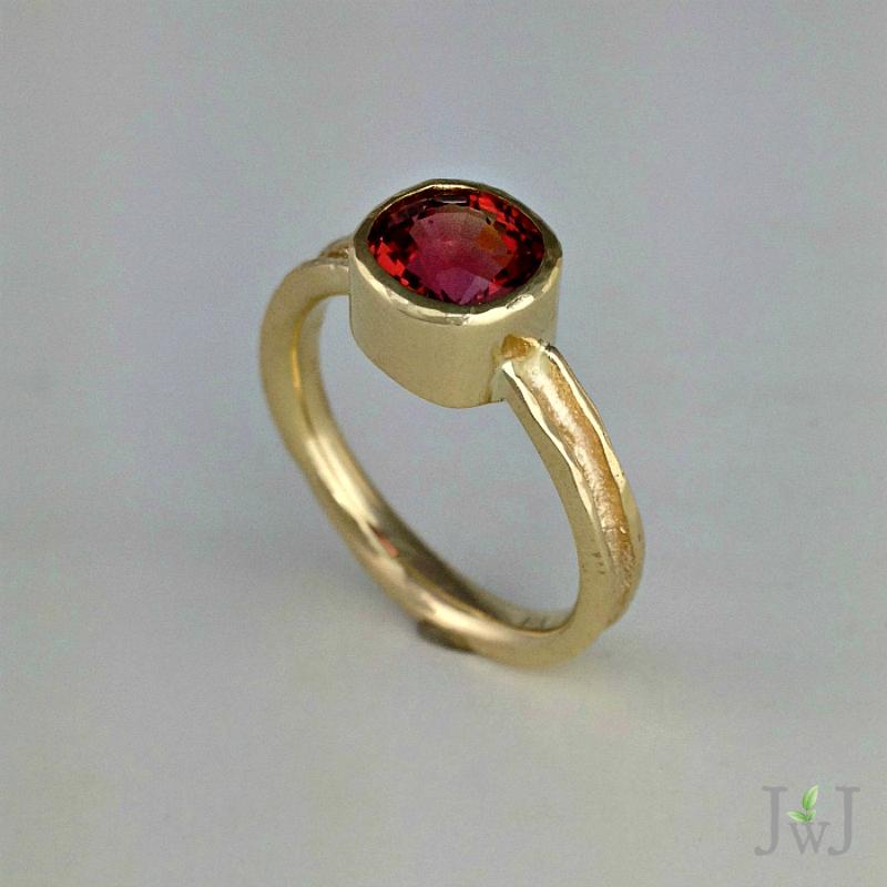 Ancient Zena Rhodolite Garnet Ring