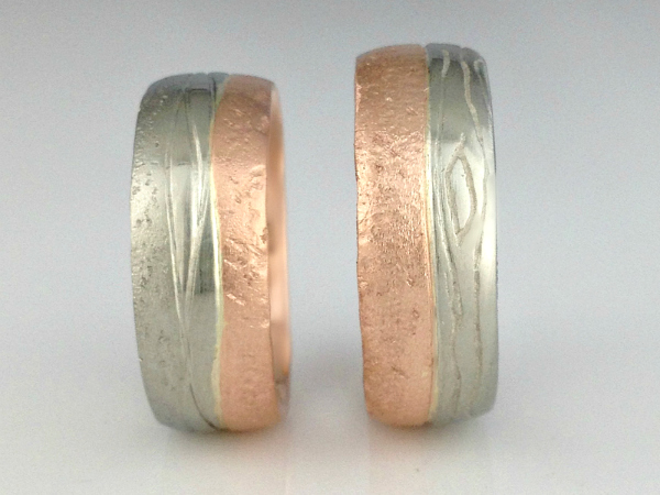 Land & Sea Custom Wedding Bands