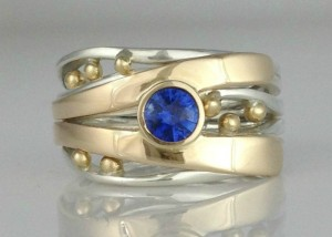 Bubbles & Wake Blue Sapphire