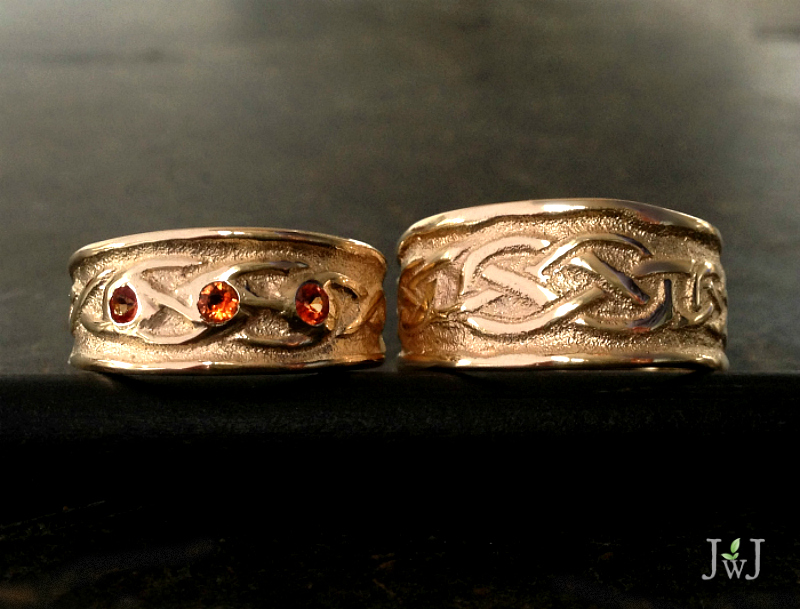 Celtic Love Wedding Bands