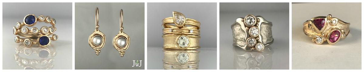 Vintage jewellery redesign
