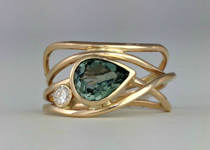 Green Horizon Ring