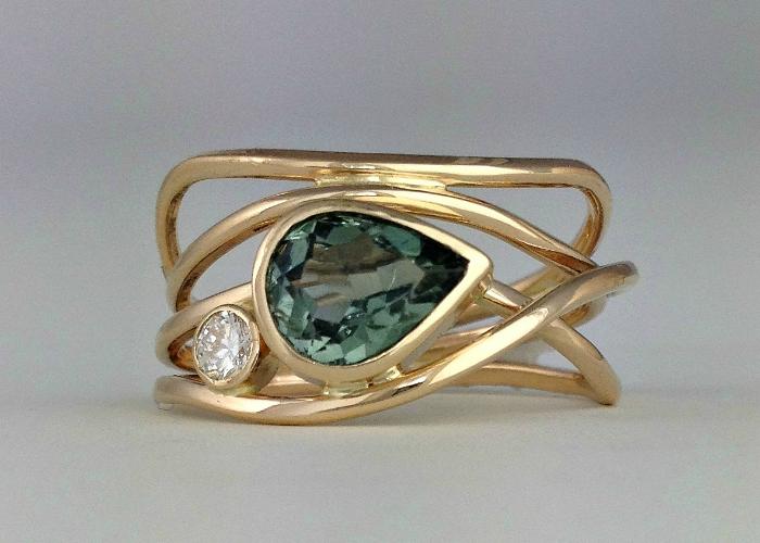 Green Horizon Ring