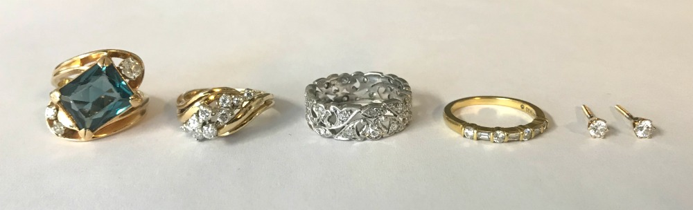 Heirloom jewellery redesign before and after