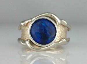 Leanne opal ring port wide