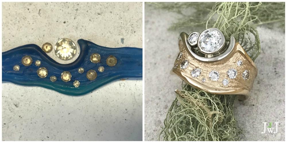 Bespoke jewellery commission