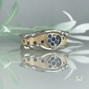 One of a kind wedding band
