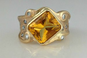 The Royal Citrine Ring