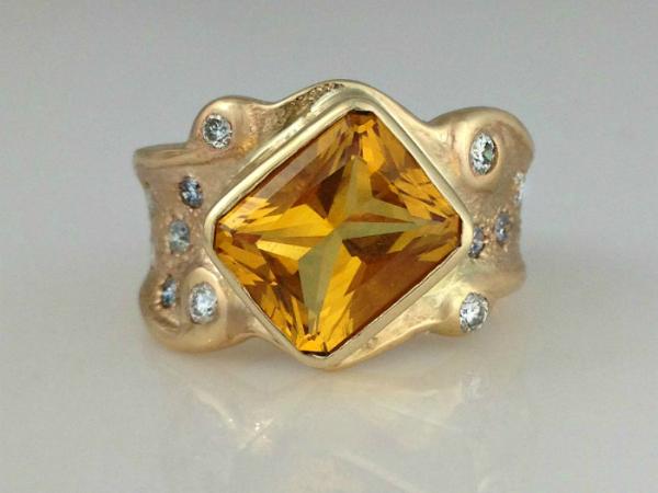 The Royal Citrine Ring