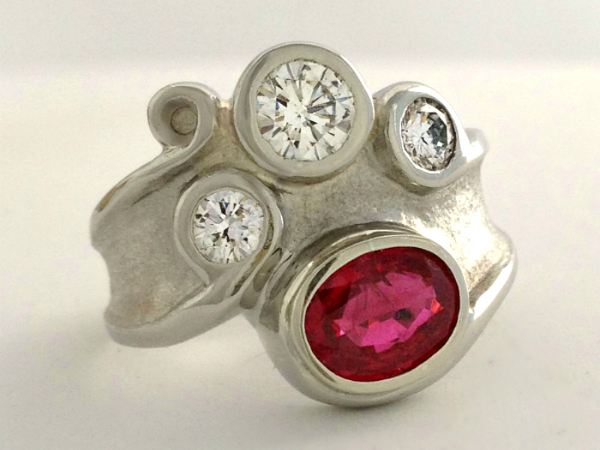 Ruby and Diamond Ring