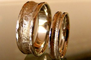 Rugged Ring Wedding Bands