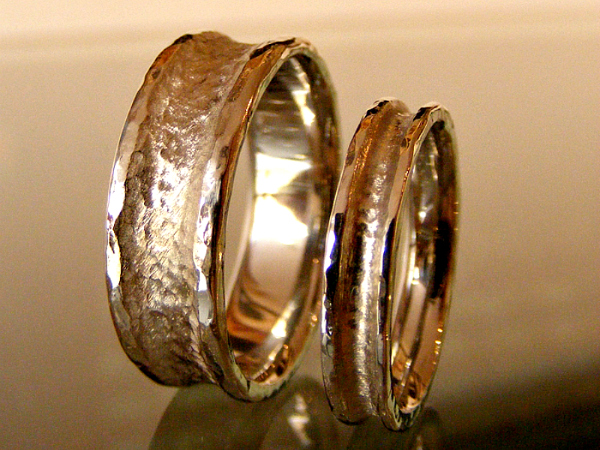 Rugged Ring Wedding Bands
