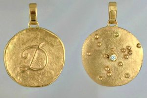 Two Sided Ancient Pendant