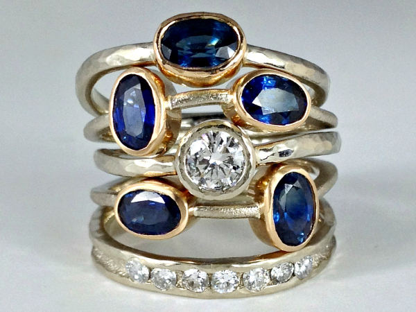 Custom Stacking Rings