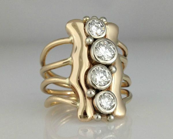 Custom Designed Anniversary Ring