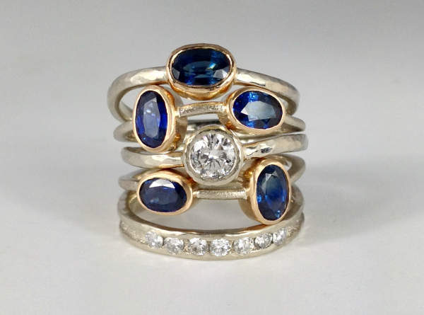 Custom Stacking Rings