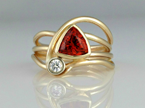Red Horizon Ring