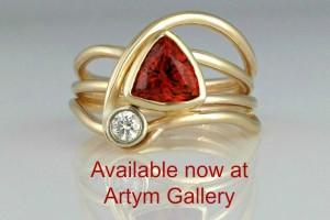 Red Horizon Ring