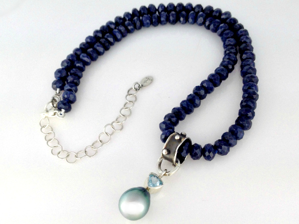 Regal Rebel Sapphire Choker Necklace