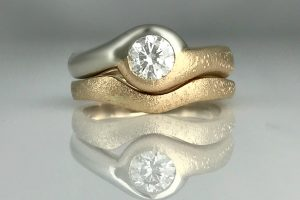 """Beach Love"" Engagement Ring"