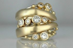 Multi-Diamond Statement Ring