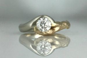 Branch & Sea Engagement Ring