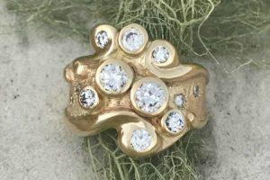Ocean Swirl Ring