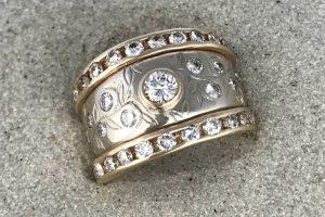 Vanessa Multi Diamond Statement Ring