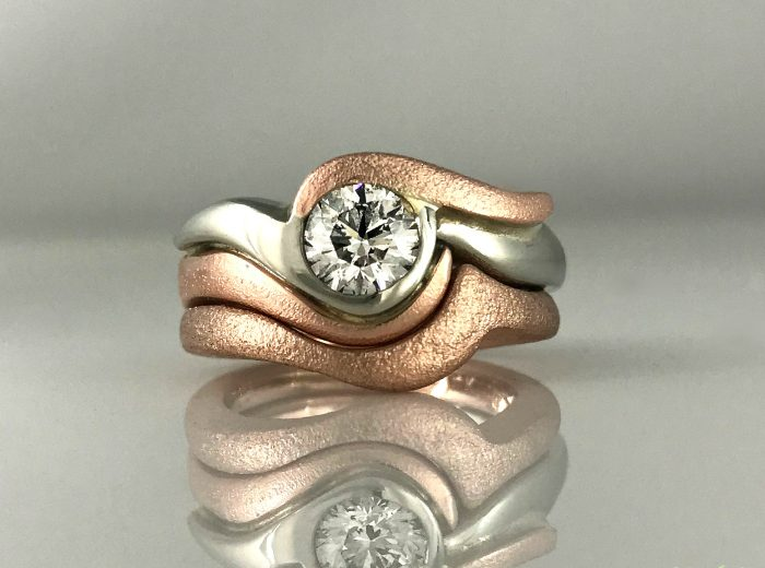 Ocean Lovers Engagement Ring