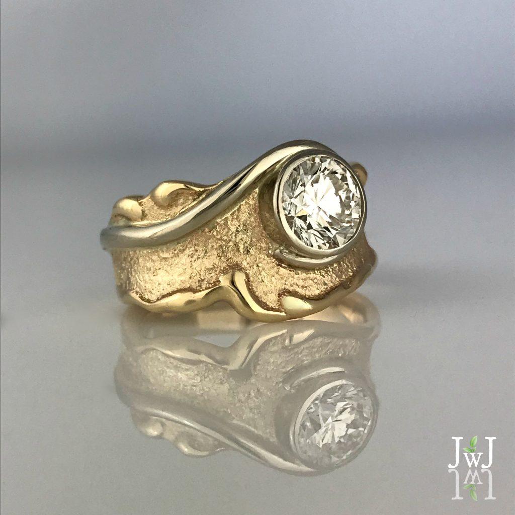 Vintage Jewellery RedesignLaurie Swirl Ring