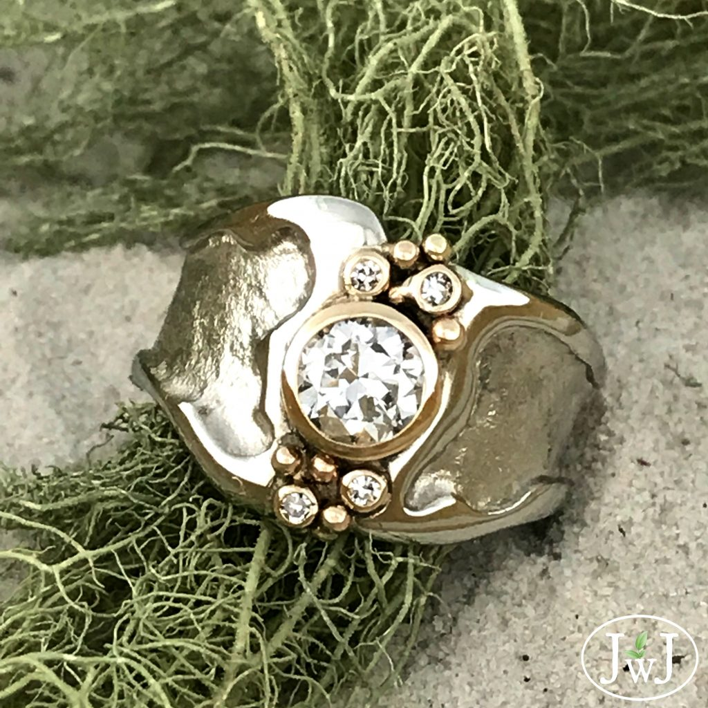 Vintage Diamonds in the Sand