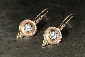 Ancient Diamond Earrings