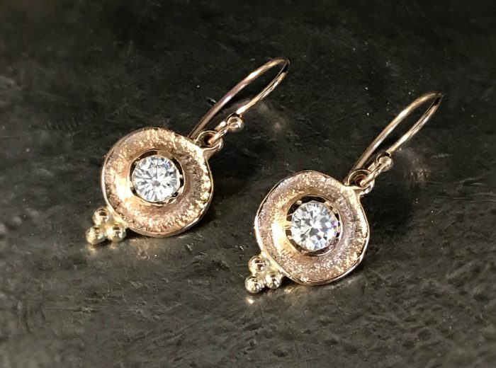 Ancient Diamond Earrings