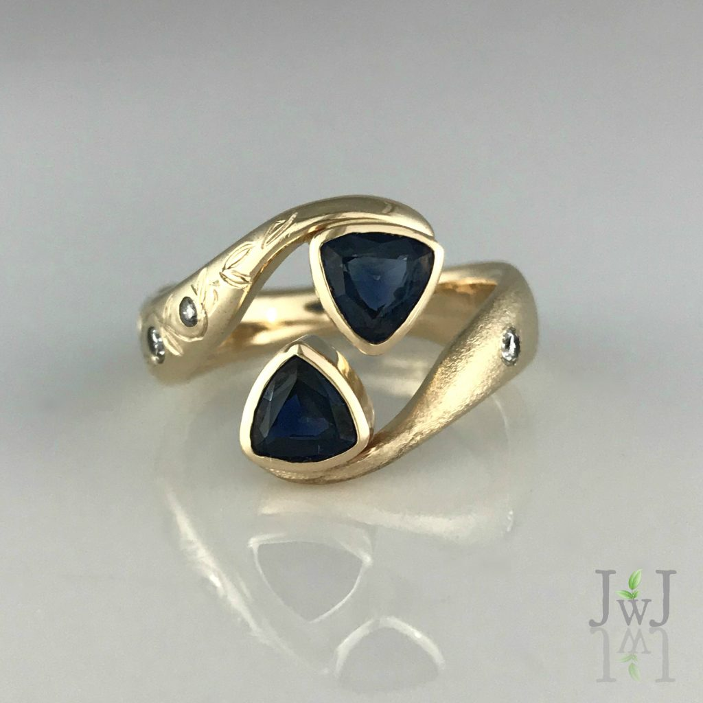 Sapphires of Joy Ring