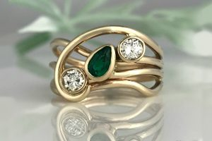 A Green Horizon Ring