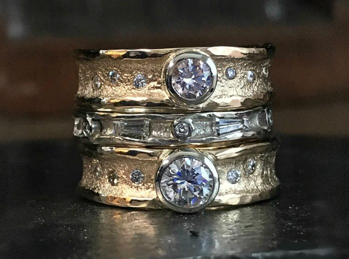 Love Shine Diamond Stack Rings