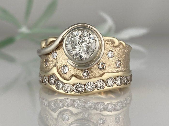 Brenda's Swirl Ring