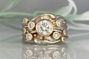 Starburst of Happiness Ring