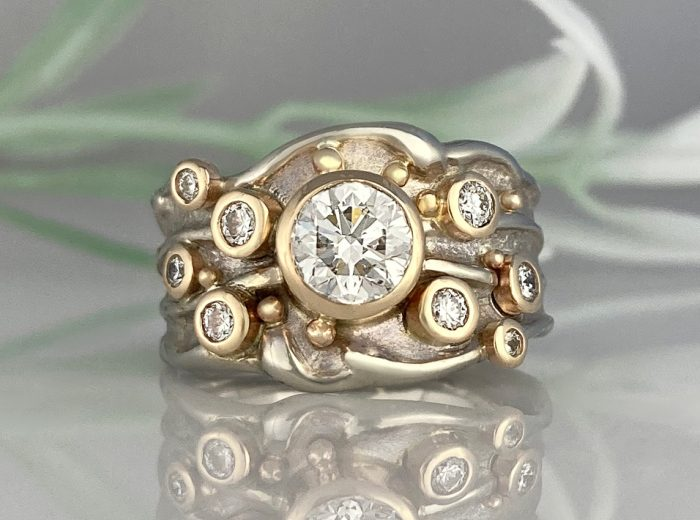 Starburst of Happiness Ring