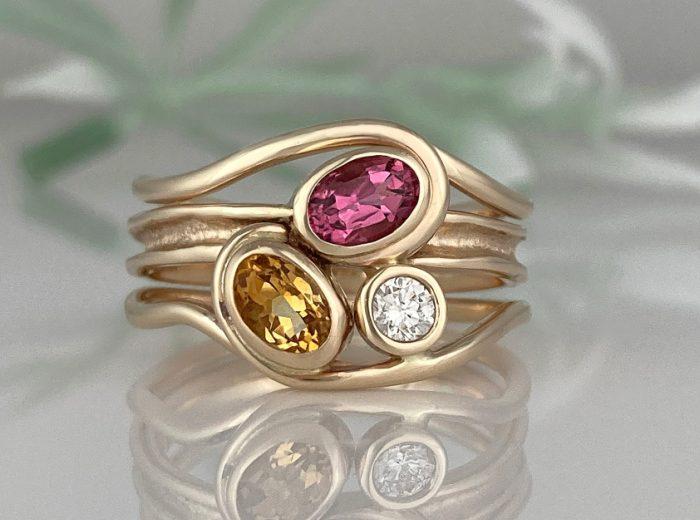 Jill's Ancient Sands Horizon Ring
