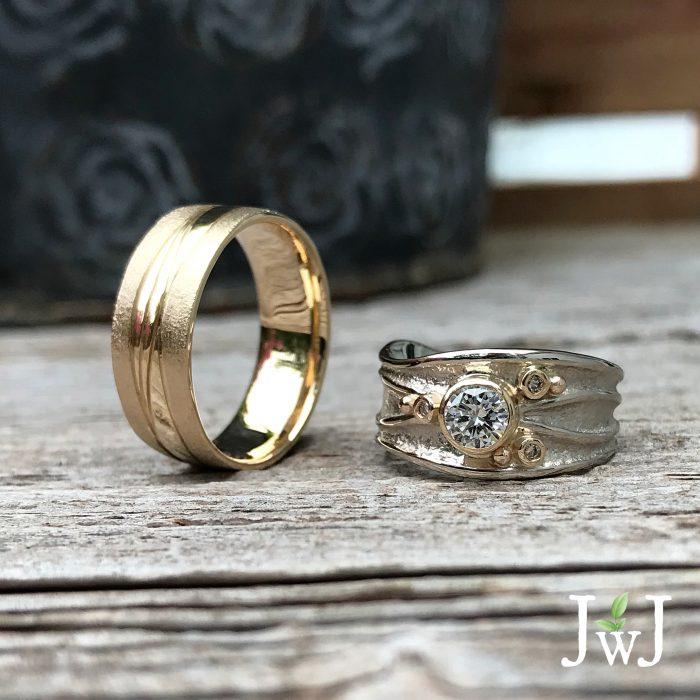 Alf & Chrissy Anniversary Rings